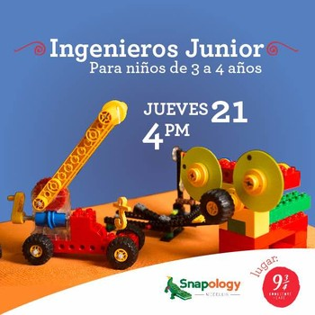 TALLER INGENIEROS JUNIOR CON SNAPOLOGY
