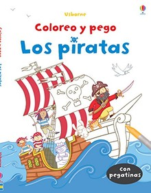 COLOREO Y PEGO LOS PIRATAS