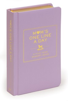 MOMS ONE LINE A DAY : A FIVE YEAR MEMORY BOOK