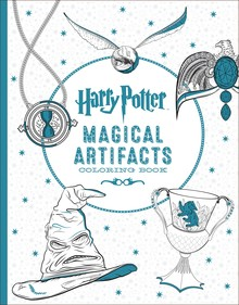 HARRY POTTER MAGICAL ARTEFACTS COLORING BOOK