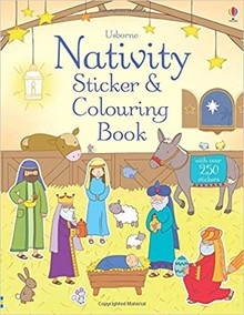 NATIVITY STICKER & COLOURING BOOK