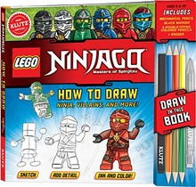 HOW TO DRAW NINJA, VILLAINS AND MORE