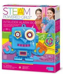 STEAM POWERED KIDS INTRUDER ALARM ROBOT