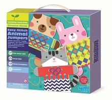 4M EASY STITCH ANIMAL JUMPERS CRAFT