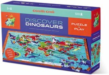 100 PUZZLE DISCOVER DINOSAURS